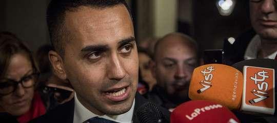 """Governo, Di Maio: """"Ore importanti per la manovra. Non cedere alle provocazioni"""""""