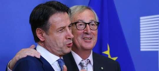Manovra: martedì incontroConte-Junckera Strasburgo