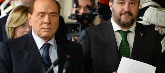 Berlusconi ha detto che alle prossime politiche si presenterà con Salvini