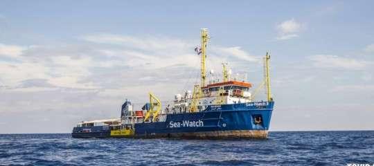 Migranti Conte Di Maio accoglienza donne bambini SeaWatchMalta