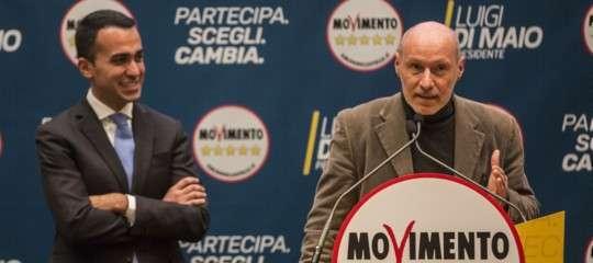 Per De Falco il Movimento ha rinnegato le promesse elettorali e si è spostato a destra