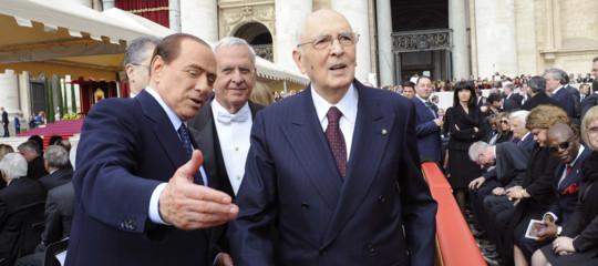Di Battista Napolitano Berlusconi vili