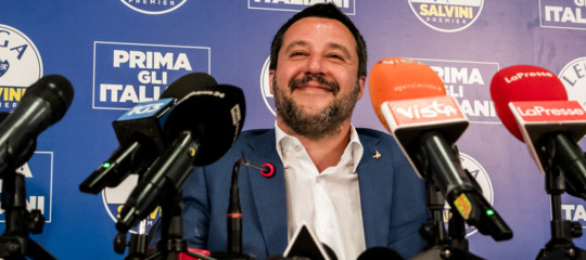Matteo Salvini fabioFazio