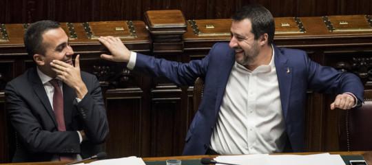 Di Maio Salvini moglie marito