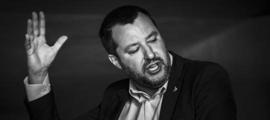 Matteo salvini ha parlato con agi di reddito di cittadinanza conti dellitalia e alleanza con m s