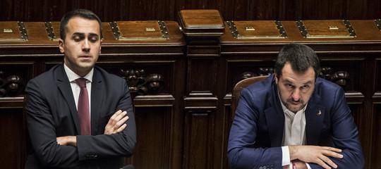 salvini di maio referendum europee
