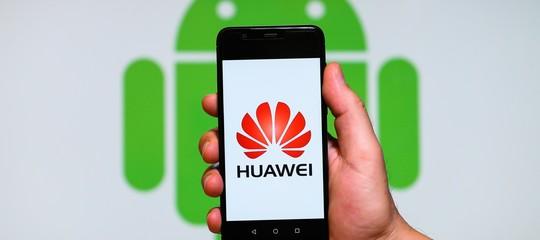 Alcuni smartphone huawei potrebbero avere android q