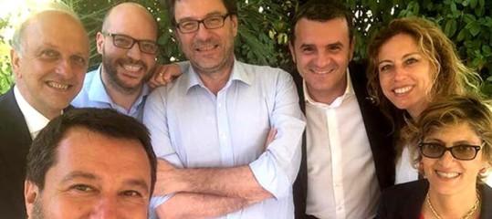 salvini posta foto ministri ruspa