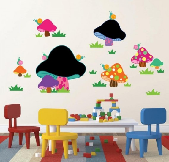 Idee veloci per decorare le pareti della cameretta