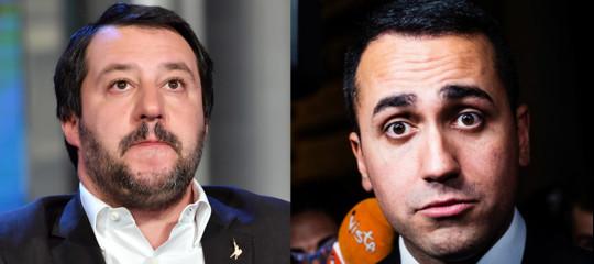 Salvini finita con m s vedremo di maio e pentito ma la frittata e fatta