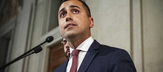 Di maio chiede il taglio dei parlamentari per rafforzare la fiducia del governo