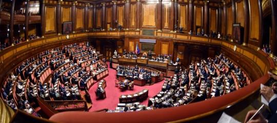 Il senato vota la fiducia al governo conte bis con si