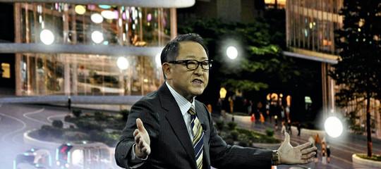 Toyota costruira una smart city alle pendici del monte fuji
