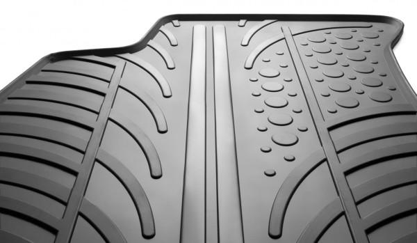 Tappetini auto in gomma e l'importanza del materiale usato