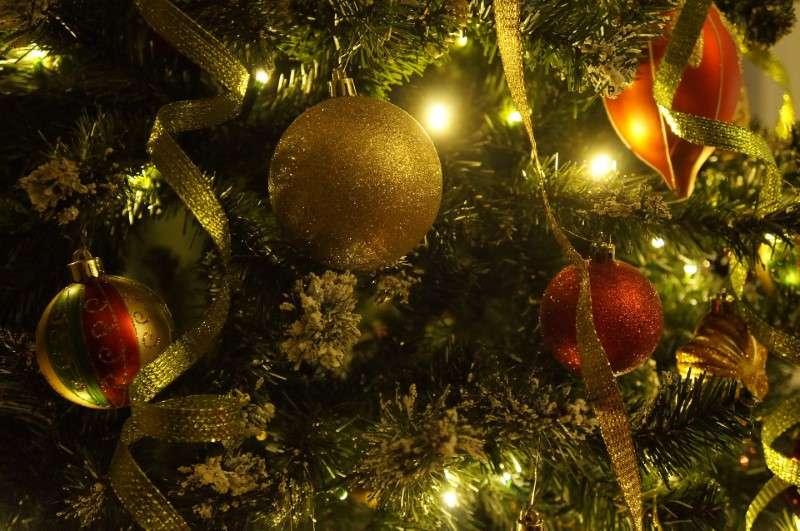Decorazioni natalizie - palla di Natale